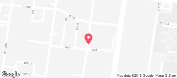 הפיצרייה - מפה