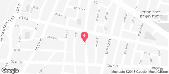 פרישדון דיזי - מפה