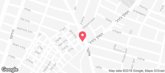המלביה - מפה