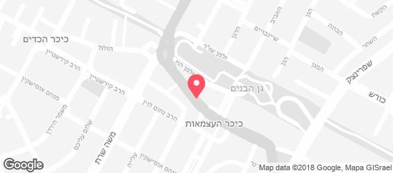 קייטרינג מוצרלה - מפה