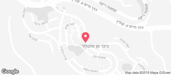 דולצ'ה קאסה בית מתוק - מפה