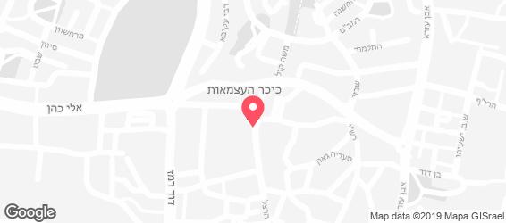 חומוס full - מפה