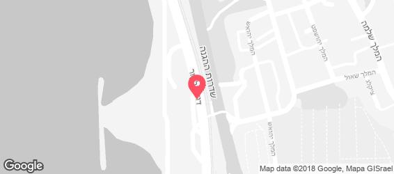 מנדרין - קהונה ביץ' - מפה