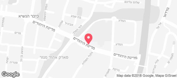מאמאמיה - מפה