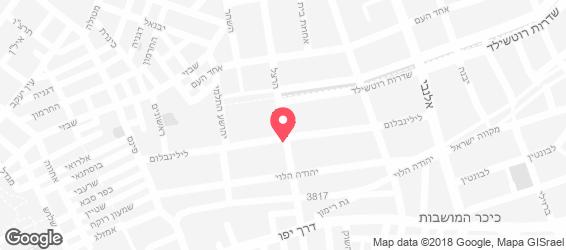 אוליב לילינבלום - מפה