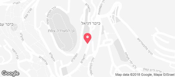בית הא לחמה - מפה