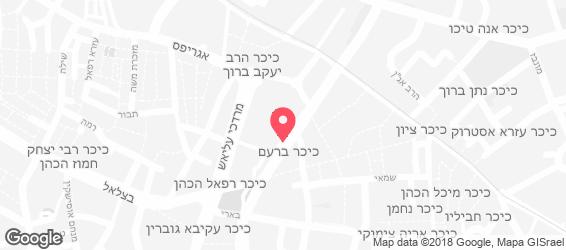 בית מאפה יהודה - מפה