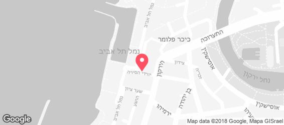בני הדייג תל אביב - מפה
