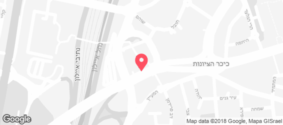 טאבון הכרמל - מפה