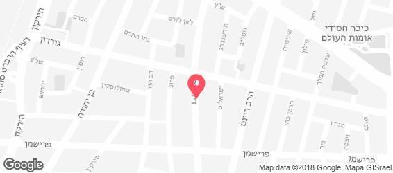 זוזא - סימטא - מפה