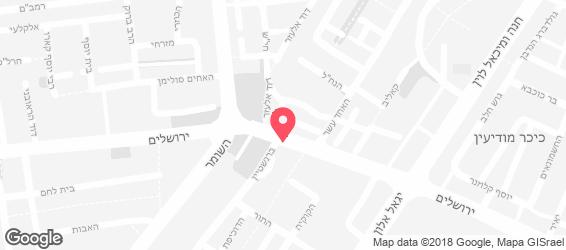 צופיה סוזנה - מפה