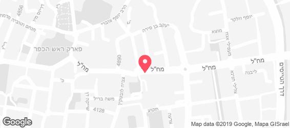 קייטרינג סלומון - מפה