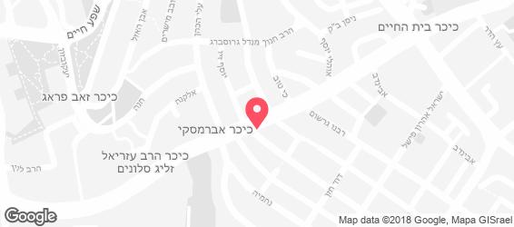 קייטרינג כהן - מפה