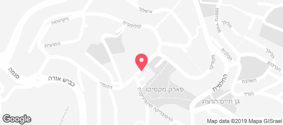 באגט שילת - מפה