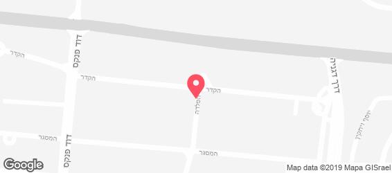 חומוס בר - מפה