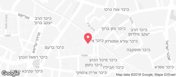 בן יהודה 2 - מפה