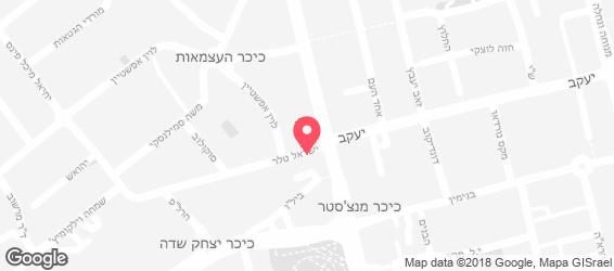 גוג'ו  GOJO-מאכלים אתיופים רחובות - מפה