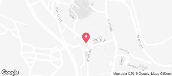 פיצה גולן - מפה