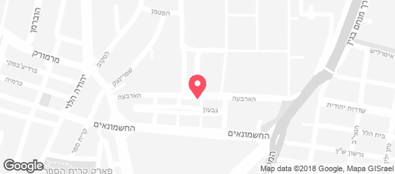 המסעדה - מפה