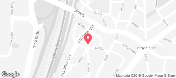 דוד ויוסף סטריט פוד - מפה