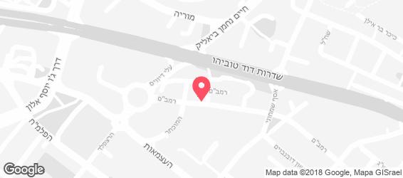 מדלן-קייטרינג ביתי - מפה