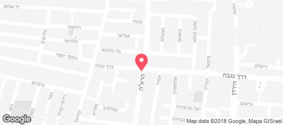 ברילוצ'ה טוסט נקניק - מפה