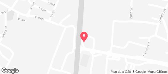 פלאפל בריבוע - מפה