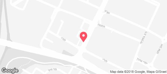 מיוזיקל בוטיק שטיינברג - מפה