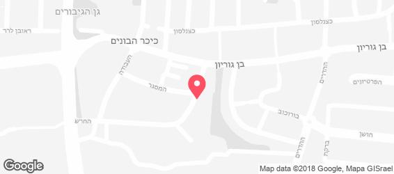 טירת הלחם - מפה