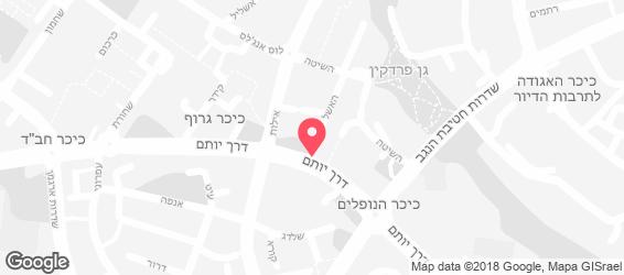 ג'וני קריספי אילת - מפה