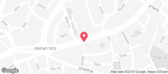 ג'חנון קול רמת גן - מפה