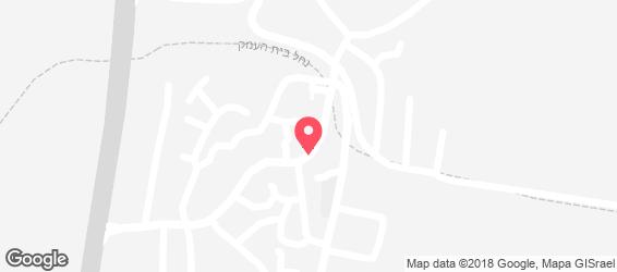מזרעה - בית קפה וקונדיטוריה - מפה