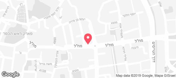 פוד-לנד קייטרינג - מפה