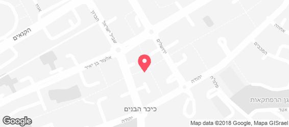 בית מאפה לחם קווקזי - מפה