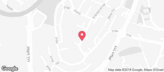 פלאפל 7 SEVEN - מפה