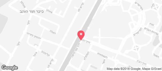רפאלו קרית ביאליק - מפה