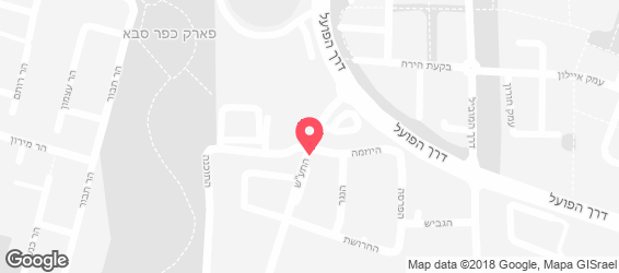 חומוס ירדני - מפה