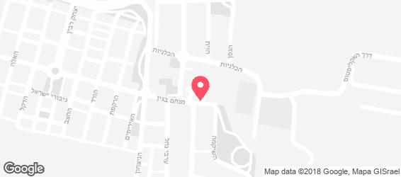 פיצה רקיסימו - מפה