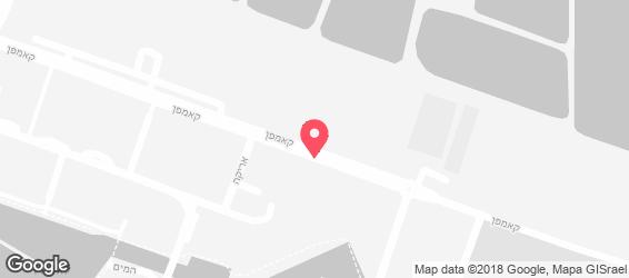 אנטריקוט אקספרס - מפה