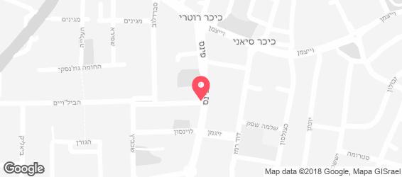 ג'חנון MANIA - מפה
