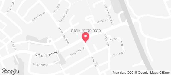 ישראלי קריספי - מפה