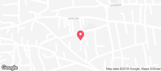 בית הקוראסון - מפה