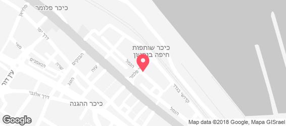 חומוס הנמל אבו רמי - מפה