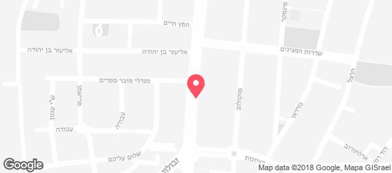 שווארמת אליהו - מפה