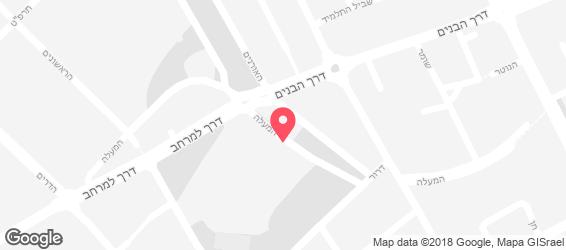 גזוז - פלאפל ארצישראלי - מפה