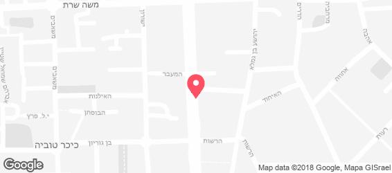 פסטה מיאה - מפה