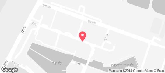 קונופיצה - מפה