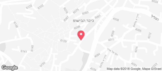 חומוס אבו סמיר - מפה