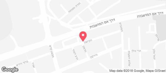 שלייקס אוכל יהודי - מפה