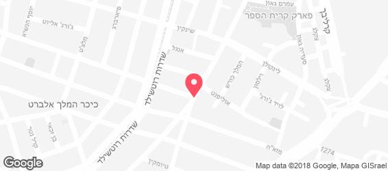 פלפלים קייטרינג - Pilpelim - מפה